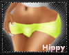 GA. Lime Booties Hippy