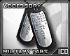 ICO Military Dogtags