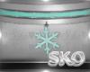*SK*SNOWFLAKE CHOKER3