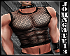 - Muscled Net Top -