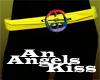 Rainbow peace sign belt