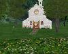 white  church  add on