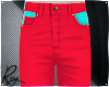 Cherry Red Neon Jeans