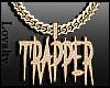 F. Icy Gld Trapper Chain