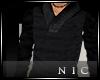 [Nic]Men Sweater Blk