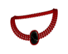 (T)Ruby and Onyx Necklac
