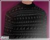 f Big black sweater