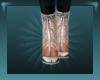 Silver Fringe Shoe