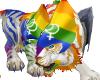 Lesbian Pride Pet Tiger