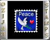 ozi peace stamp