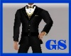 """GS"" BLACK & GOLD SUIT"