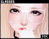 金. White Glasses