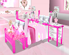 pink scaled poseless bed