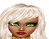 lime green eyes