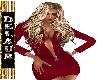 AHAVA~ SEXY RED SUIT
