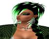 Raven green Earrings