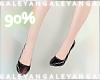 A | 90% short leg scaler