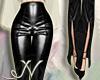 N. Black Leather Pant