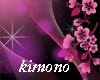 kimono purpleblack