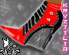 !KJ SparkleBoots-Blk&Red