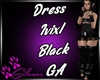 Dress Ivixl Black GA