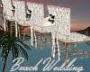Beach Wed Chair Row