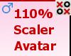 110% Scaler Avatar - M