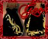 Geo Dragon Robe Gold