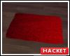 H@K Red Rug