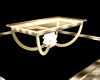 Golden Cocktail Table