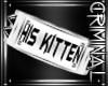 |R| His Kitten Armband