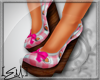 [E.M.] Cutie Wedges Pink
