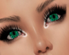 Green Emerald Eyes