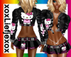 [L] HALLO KITTY outfit