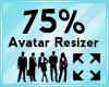 Avatar Scaler 75%