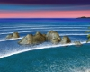 Fiji Sea Rocks