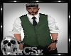 CS Mens Vest Green