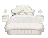white cuddle bed