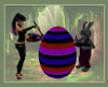 "Egg Painting Zone ""Goth"""