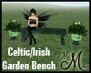 MM~ Irish Garden Bench