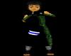 [B] Green Ninja Top