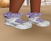 Kids Purple Pageant Shoe