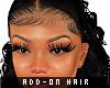 add-on wig