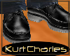 [KC]CASUAL DECK BLK SHOE