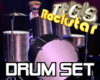 Drum Set animated