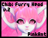 Chibi Furry Head (Short)
