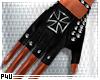 -P- Iron Cross Gloves