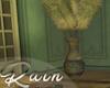 Sage Feather Vase
