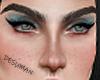 D! Makeup MH blue's