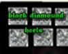 black diamound heels